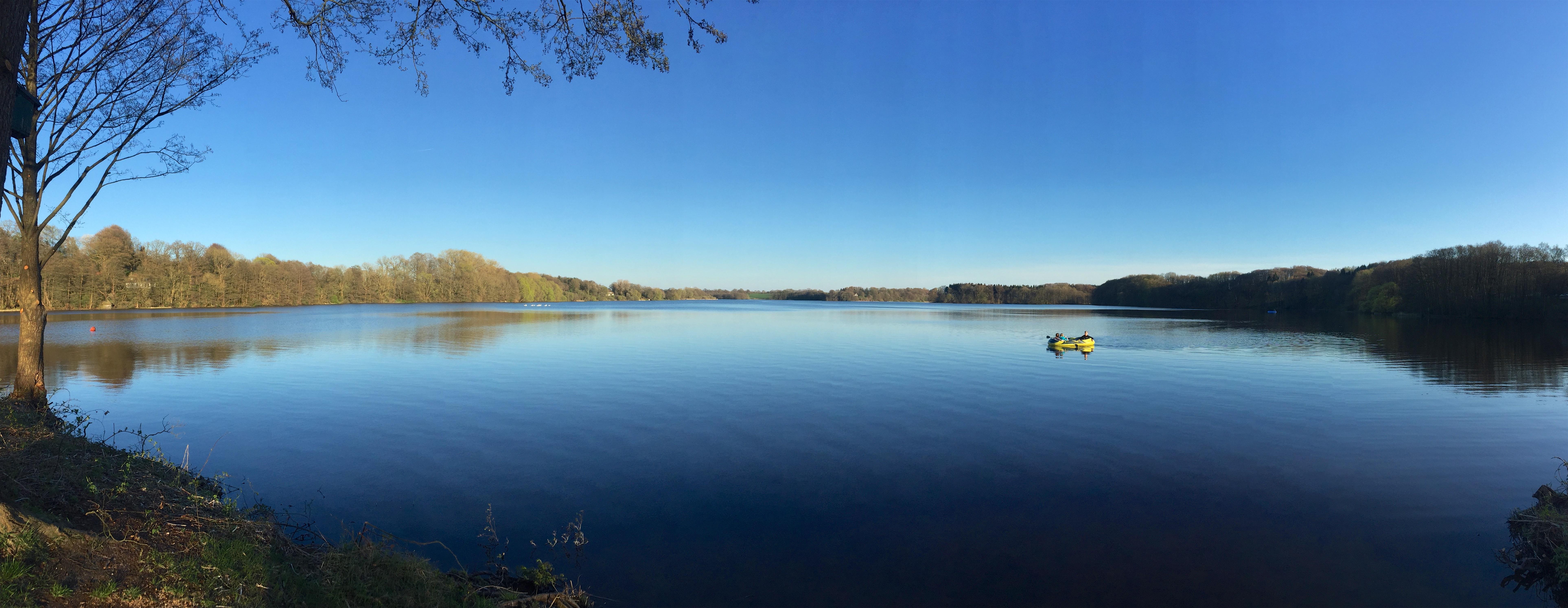 Mözener See von Wittenborn aus gesehen